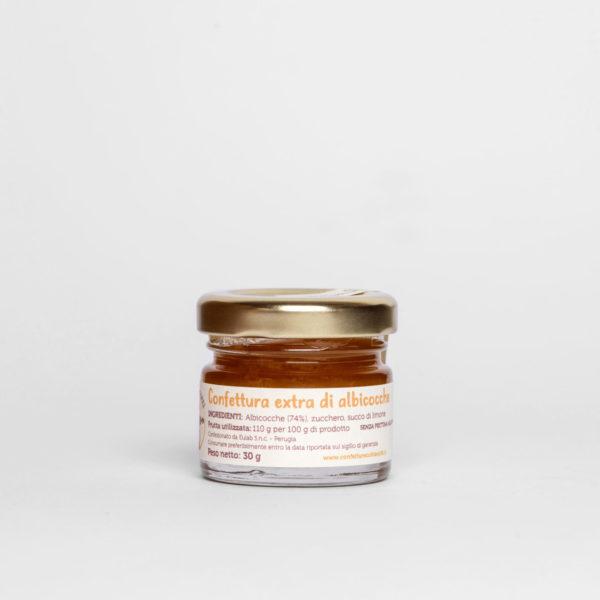 Monoporzione Confettura extra artigianale di albicocche