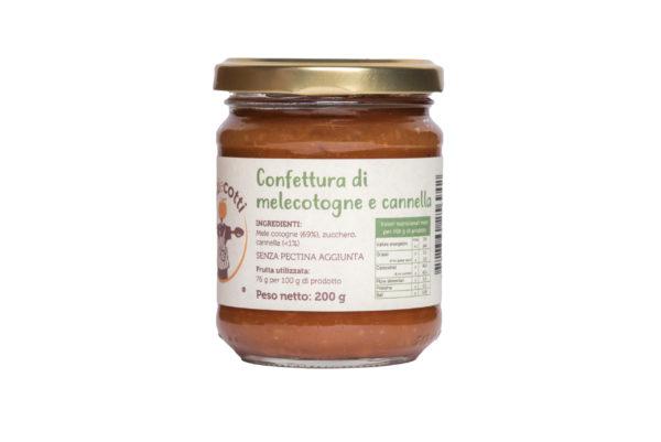 Confettura artigianale di mele cotogne e cannella - formato 212 ml