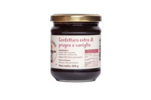Confettura extra di prugne e vaniglia