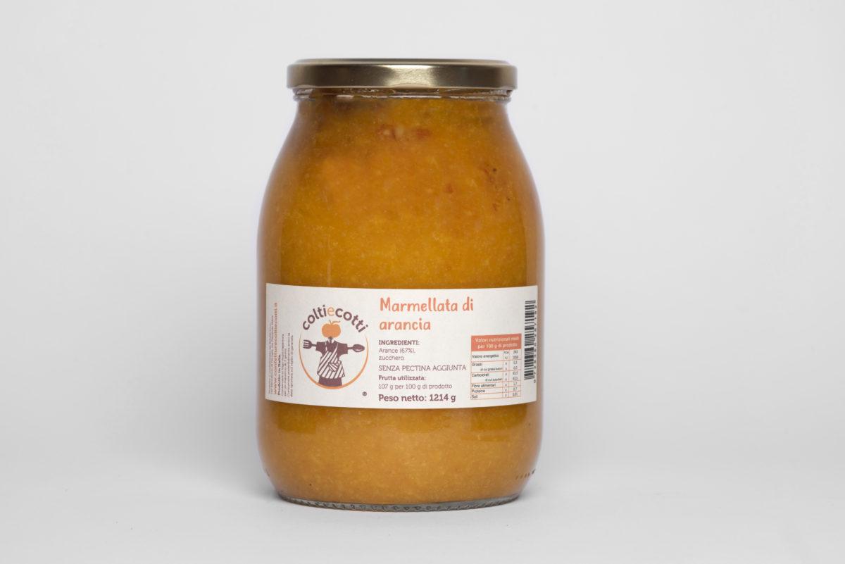 Marmellata artigianale di arancia - formato 1062ml