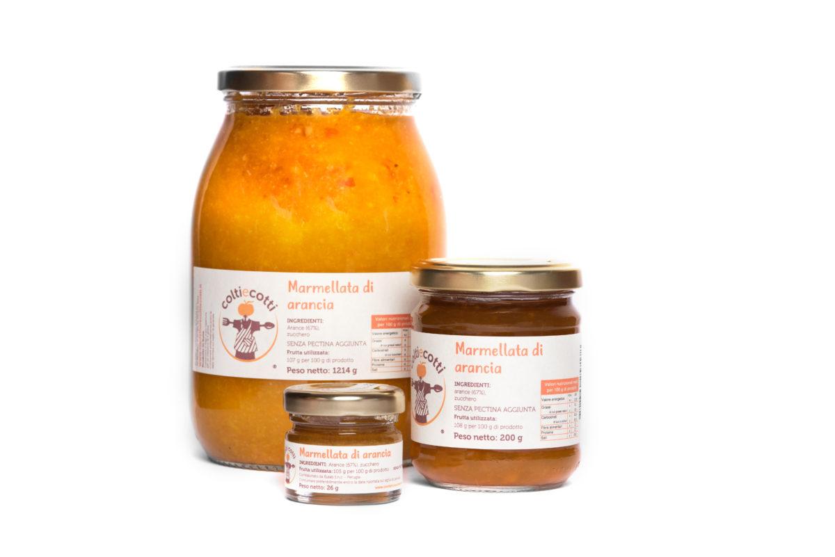 Marmellata artigianale di arancia