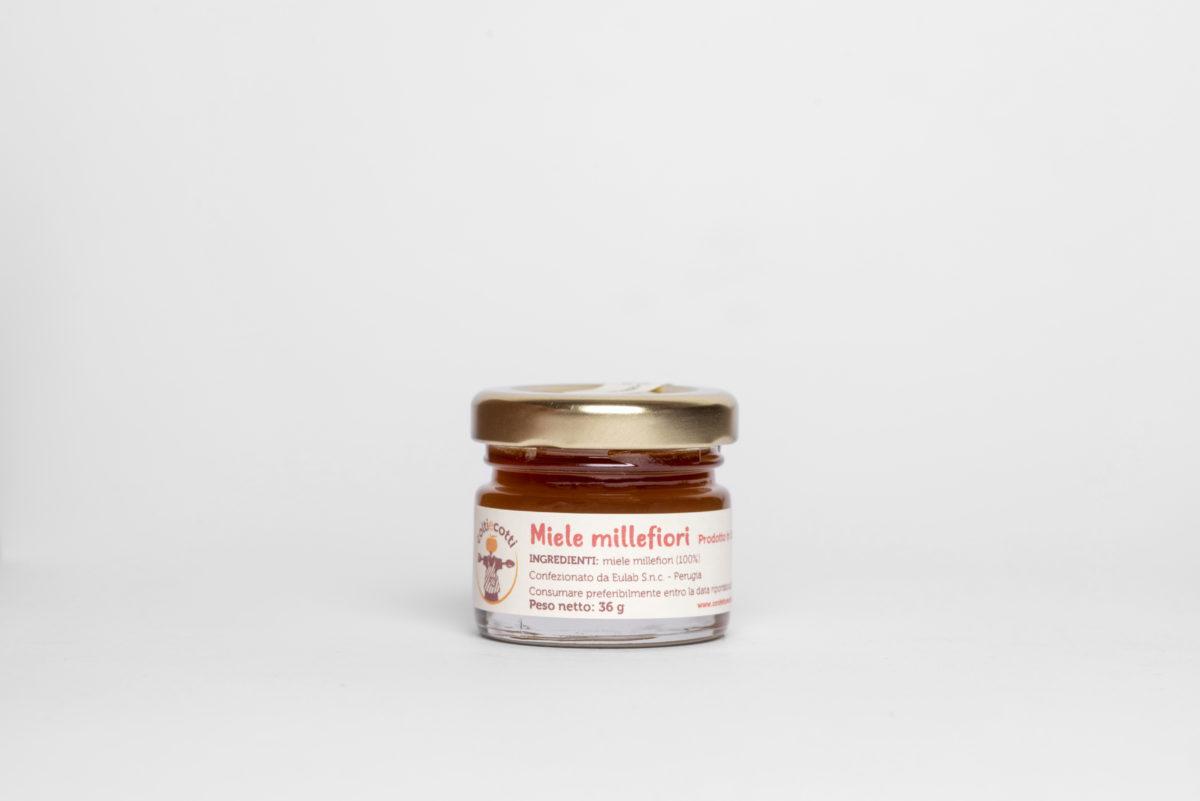 Monoporzione miele millefiori