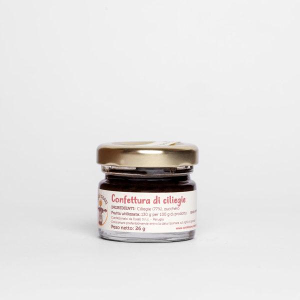Confettura artigianale di ciliegie - monoporzione